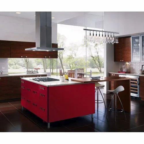 pvc island modular kitchen warranty 10 years rs 1000