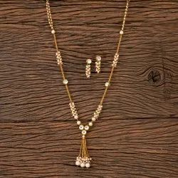 Antique Mala Necklace with Gold Plated 202690