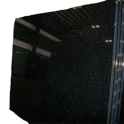 Black Granite Slab, Thickness: 15-20 mm