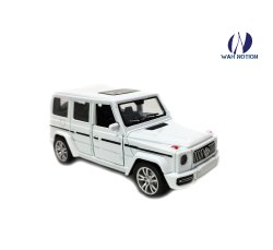 Wah Notion Classic Die-Cast Jeep Drive Metal Car Pull Back with Open Doors