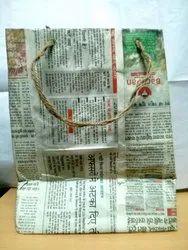 Newspaper/Megazine Rope Handle Newspaper Recycle Bags, Capacity: 2kg