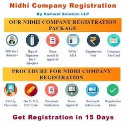 1 Year Individual Consultant Nidhi Company Registration, Professional Experience