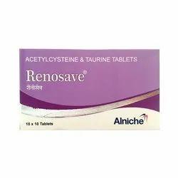 Acetylcysteine & Taurine Tablets