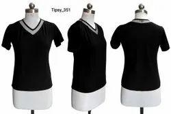 knitting Black Cultural T Shirt