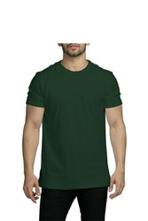 Male Half Sleeve 100% Cotton T Shirt