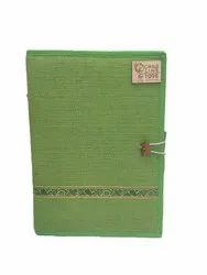 Green Jute Conference Folder, For Document