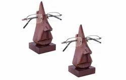 Handmade Wooden Eyeglass Stand
