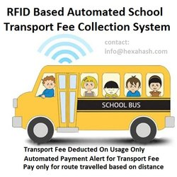 Hexahash RFID Based School Bus Fee Management System