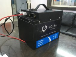 Mileage: 60-65Km 60V 24 AH Lithium Ion Battery For Electric Vehicle
