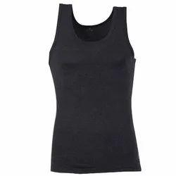 Woodland Dark Grey Men's Plain Vest