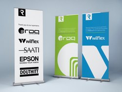 Printed Normal roll banner, Size: Normal, For N/A