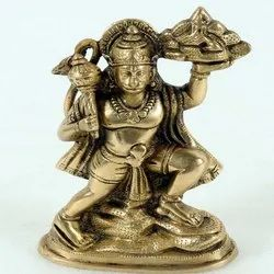 Capstona Brass Hanuman Flying Idols