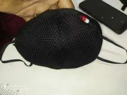 Black Cotton Mask