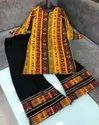 Cotton Flex Palazzo Suit