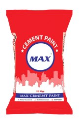 Max Cement Paint, Packaging Type: Bag