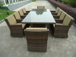 Outdoor Rattan Chairs & Table Sets