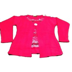 Kids Party Wear Woolen Top