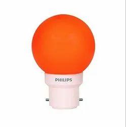 Philips B22 0.5w Orange LED Bulb Deco Mini