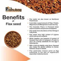Bahubali Flax Seed, Packaging Type: Plastic Packet