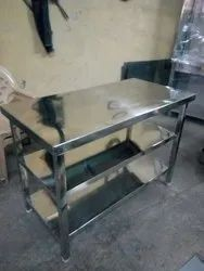 3 Layer SS Work Tables