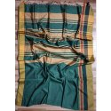 Casual Wear Plain Cotton Silk Handloom Saree, 6.5 M