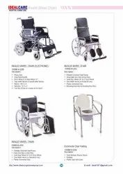 Wheel Chair & Commode