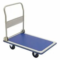 Stainless Steel Platform Hand Trolley, For Industrial
