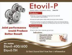 Etodolac 400 mg Paracetamol 325 mg Tab