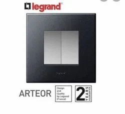 10 AX 230 V Arteor 2 Switch with colour plate