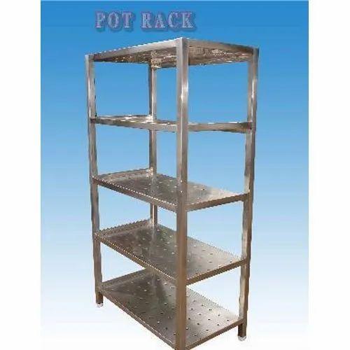 Mild Steel Pot Rack