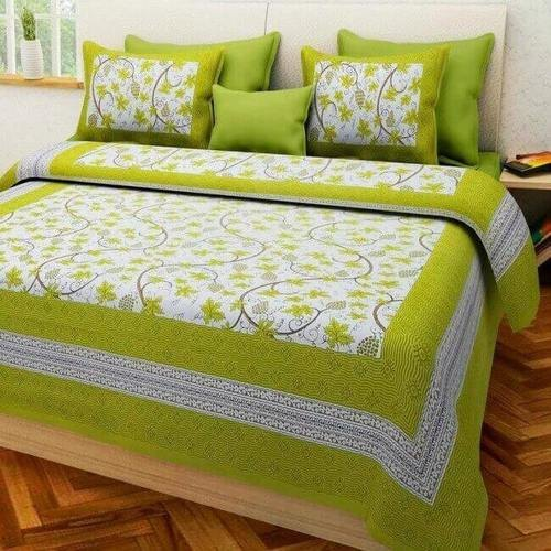 Cotton King Size Double Bed Sheet For, What Size Is A Double Bed Cover