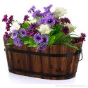 Floral Planter Oval For Garden And Home Decoration, Size: Large To Small