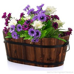 Floral Planter Oval