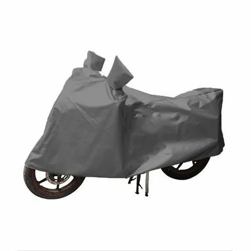 Grey HDPE Bike Cover