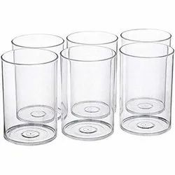 Beezy Transparent Polycarbonate Glass, Size: 300 Ml, for home and office