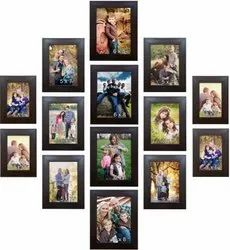 Wooden Golden Synthetic Plastic Acrylic Photo Frame Molding For Photo Framing