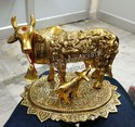 Gold Plated Cow