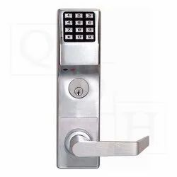 Stainless Steel Alarm Lock, For Home, Office, Silver