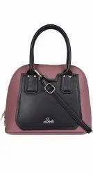 Two Colors PU Leather Lavie Handbags, 400g, Size: 24 Inches