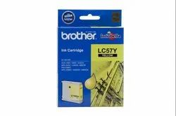 Brother LC-57 Yellow Ink Cartridge