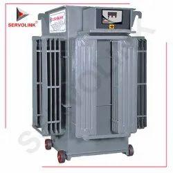 Three Phase 160 V - 270 V Linear Type Servo Voltage Stabilizer