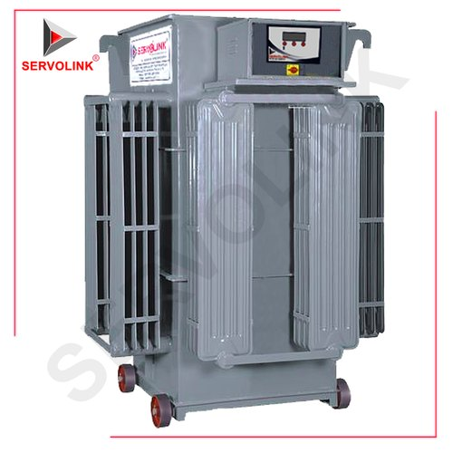 Three Phase 160 V - 270 V Linear Type Servo Voltage Stabilizer