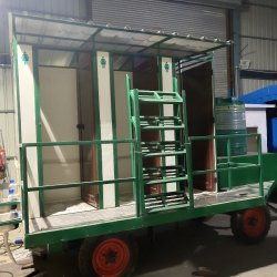 Mobile Toilet Van 6 Seater   tollay