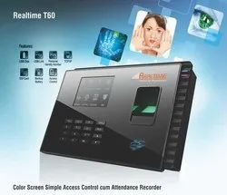 T60 Realtime Color Screen Simple Access Control Attendance  System