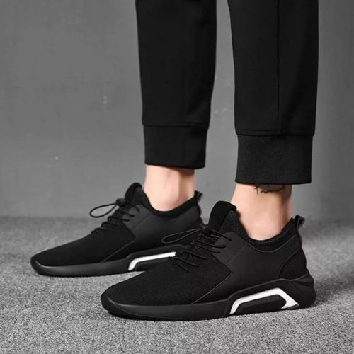 Black Comfort Foam Men Fashion Simple