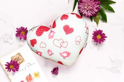Heart shape designer Cushion