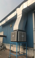 Adhunik Powertech PP & SS ADH-40C Duct Air Cooler, For Industrial