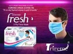 Trireme Fresh 3 Ply Mask