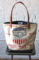 1950 S Era Feed Sack Tote Bag