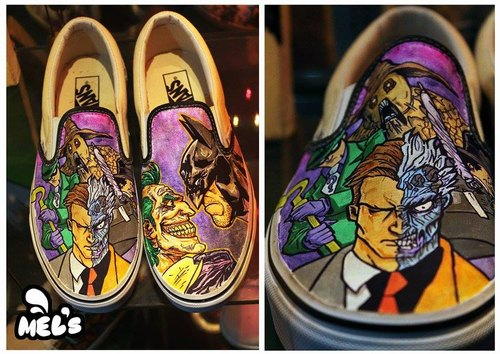 custom paint shoes near me